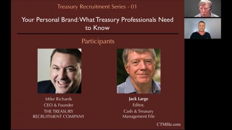 Your Personal Brand: What Treasury Professionals Need to Know