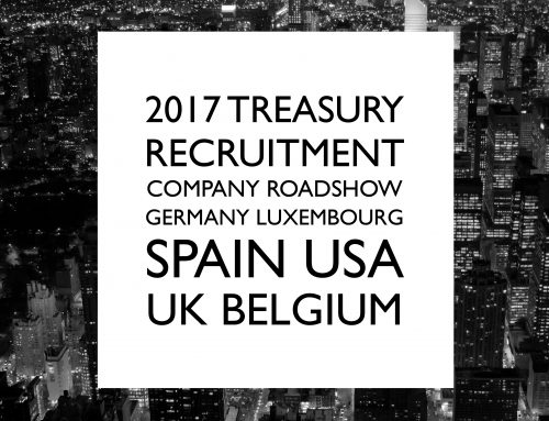 The 2017 Treasury Recruitment Company Roadshow