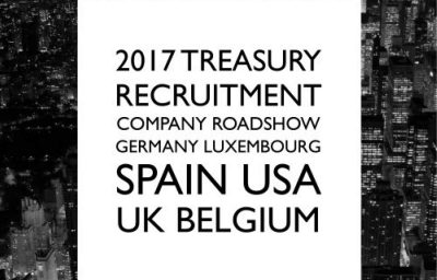 2017 Treasury Recruitment Company Roadshow