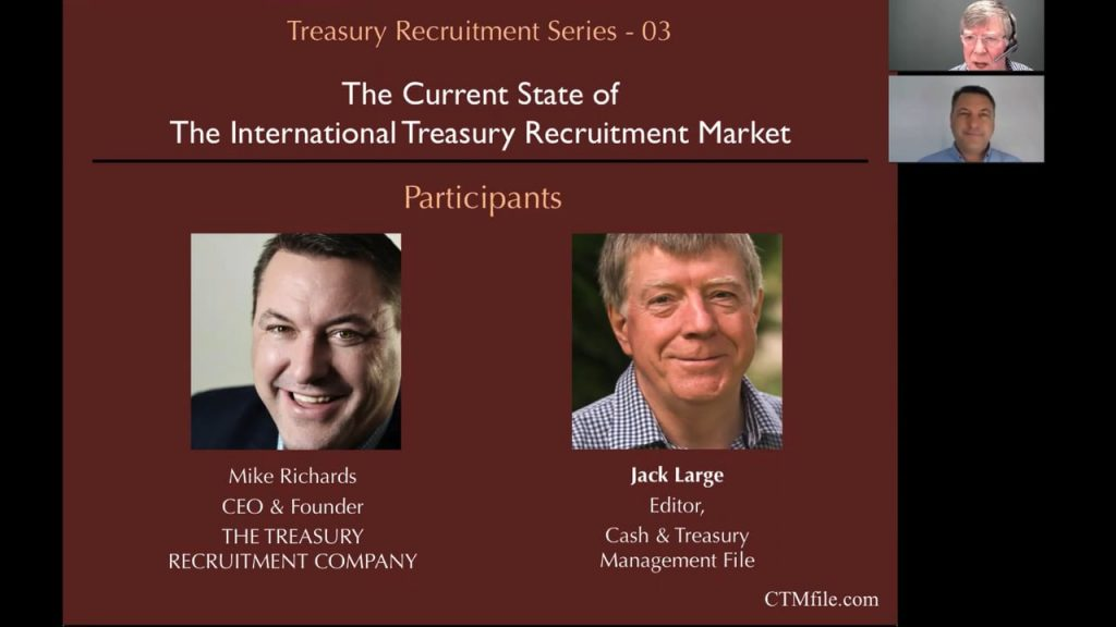 The Current State of The International Treasury Recruitment Market
