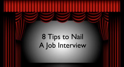 8 tips to nail the job interview