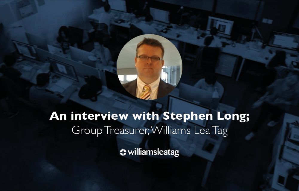 Why use The Treasury Recruitment Company | An Interview with Stephen Long
