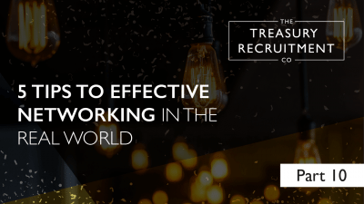 5 Tips to effective networking in the real world | Part 10