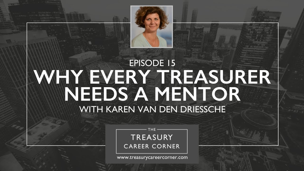 Ep 015 - Why Every Treasurer Needs A Mentor with Karen Van den Driessche