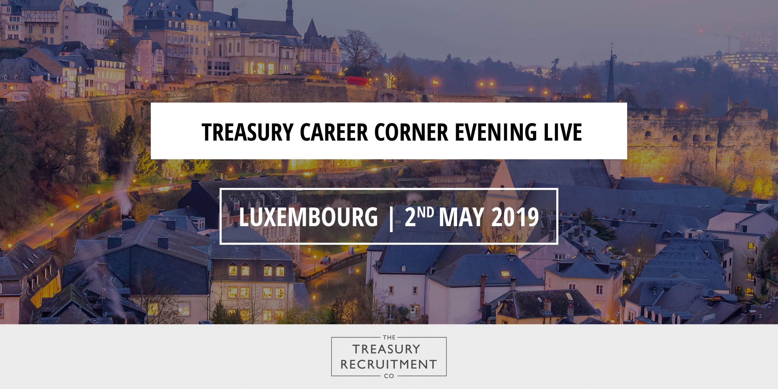 Treasury Career Corner Live - Luxembourg