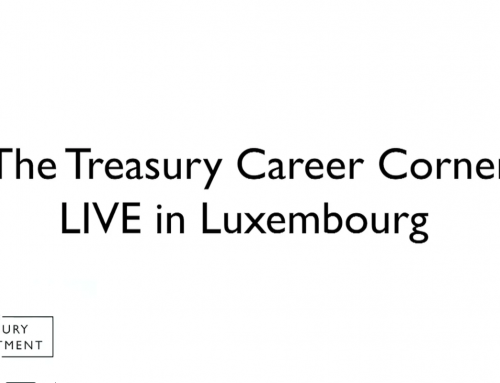 The Treasury Career Corner Live in Luxembourg