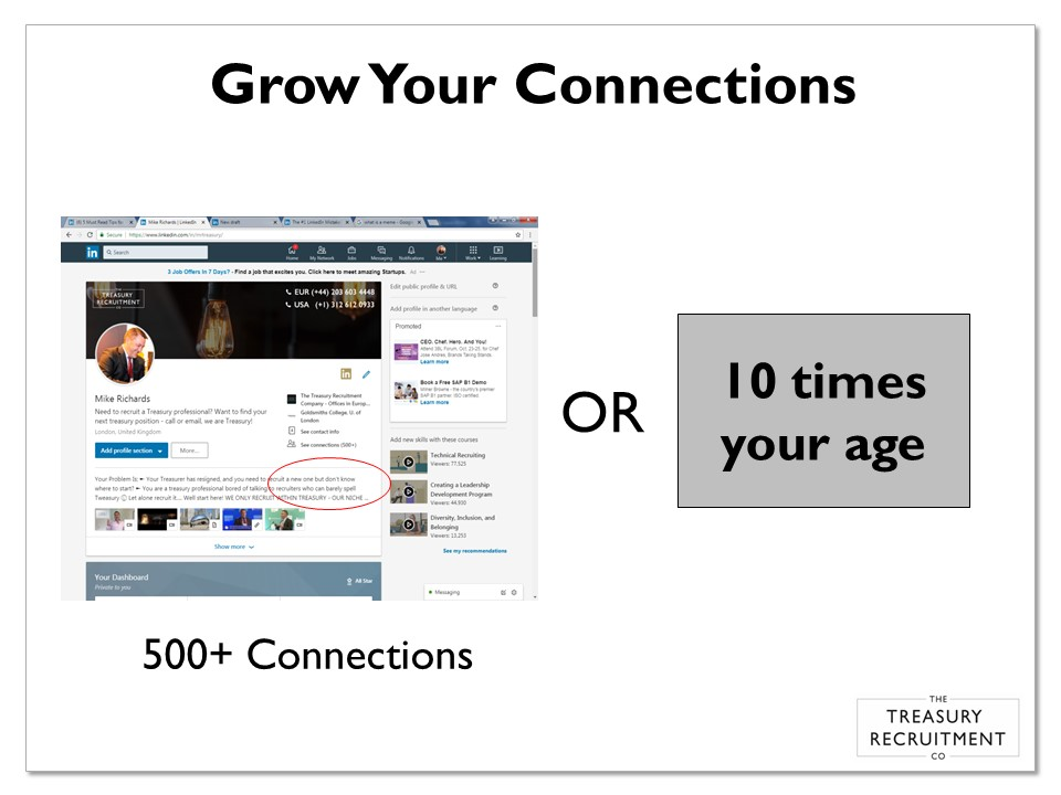 Grow your connections